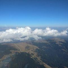 Flugwegposition um 13:08:52: Aufgenommen in der Nähe von Gemeinde Rettenegg, 8674 Rettenegg, Österreich in 2382 Meter