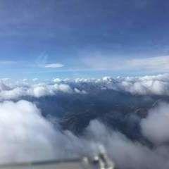 Flugwegposition um 10:01:51: Aufgenommen in der Nähe von Gemeinde Lesachtal, Österreich in 3817 Meter