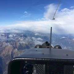 Flugwegposition um 09:17:32: Aufgenommen in der Nähe von 33027 Paularo, Udine, Italien in 4252 Meter