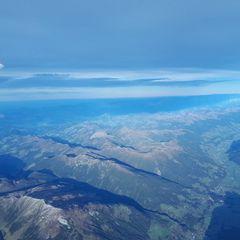 Flugwegposition um 14:29:07: Aufgenommen in der Nähe von Gemeinde Krimml, Österreich in 5157 Meter
