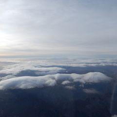 Flugwegposition um 07:33:21: Aufgenommen in der Nähe von Gemeinde Weyer, Weyer, Österreich in 4786 Meter