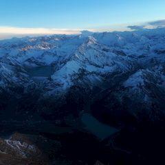 Flugwegposition um 15:45:58: Aufgenommen in der Nähe von Gemeinde Silz, Silz, Österreich in 3149 Meter