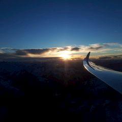 Flugwegposition um 15:47:29: Aufgenommen in der Nähe von Gemeinde Stams, Österreich in 3165 Meter