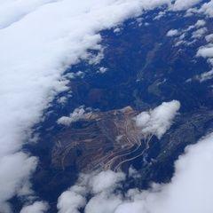 Flugwegposition um 11:41:40: Aufgenommen in der Nähe von Eisenerz, Österreich in 5161 Meter