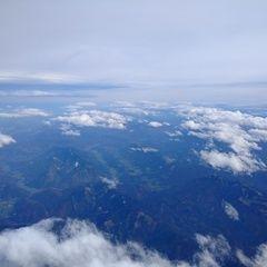 Flugwegposition um 10:20:47: Aufgenommen in der Nähe von Gemeinde Weyer, Weyer, Österreich in 5401 Meter