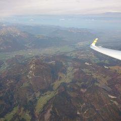 Flugwegposition um 07:06:48: Aufgenommen in der Nähe von Gemeinde Abtenau, Österreich in 3484 Meter