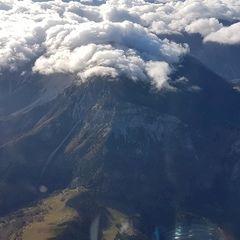 Flugwegposition um 08:09:23: Aufgenommen in der Nähe von Gemeinde Gutenstein, Österreich in 2935 Meter