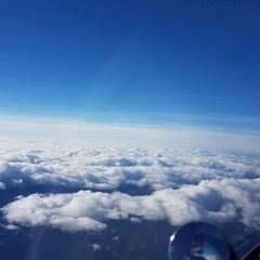 Flugwegposition um 09:27:11: Aufgenommen in der Nähe von Gams bei Hieflau, 8922, Österreich in 4667 Meter