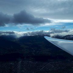 Flugwegposition um 12:11:44: Aufgenommen in der Nähe von Innsbruck, Österreich in 2655 Meter
