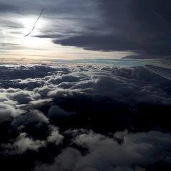 Flugwegposition um 14:42:13: Aufgenommen in der Nähe von Gemeinde Schmirn, 6154, Österreich in 4144 Meter