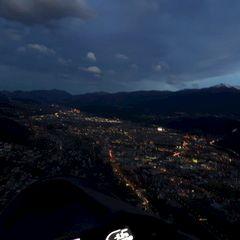 Flugwegposition um 16:08:09: Aufgenommen in der Nähe von Innsbruck, Österreich in 1000 Meter