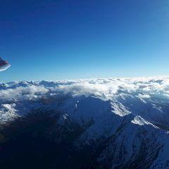 Flugwegposition um 13:43:56: Aufgenommen in der Nähe von Gemeinde Tulfes, Österreich in 3271 Meter