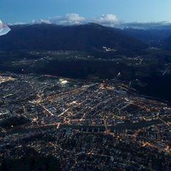 Flugwegposition um 16:11:01: Aufgenommen in der Nähe von Innsbruck, Österreich in 1693 Meter