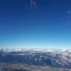 Flugwegposition um 11:58:16: Aufgenommen in der Nähe von Gemeinde Volders, Österreich in 3290 Meter