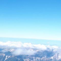 Flugwegposition um 12:07:12: Aufgenommen in der Nähe von Gemeinde Volders, Österreich in 3617 Meter