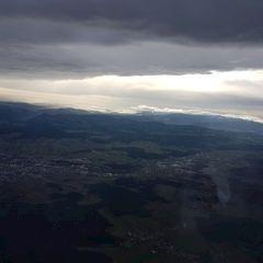 Verortung via Georeferenzierung der Kamera: Aufgenommen in der Nähe von Gemeinde Würflach, 2732, Österreich in 2100 Meter