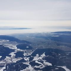 Verortung via Georeferenzierung der Kamera: Aufgenommen in der Nähe von Gemeinde Puchberg am Schneeberg, Österreich in 2900 Meter