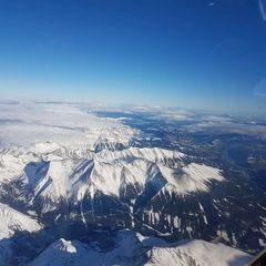 Verortung via Georeferenzierung der Kamera: Aufgenommen in der Nähe von Krakauhintermühlen, 8854, Österreich in 4600 Meter