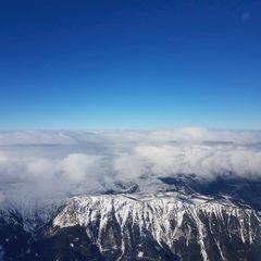 Flugwegposition um 11:56:53: Aufgenommen in der Nähe von Gemeinde Breitenstein, Österreich in 3238 Meter