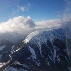 Flugwegposition um 13:13:52: Aufgenommen in der Nähe von Gemeinde Puchberg am Schneeberg, Österreich in 2279 Meter