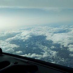 Flugwegposition um 15:06:38: Aufgenommen in der Nähe von Sopron–Fertődi, Ungarn in 3354 Meter