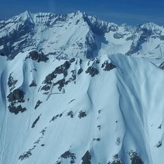 Flugwegposition um 13:55:22: Aufgenommen in der Nähe von Innsbruck, Österreich in 2377 Meter