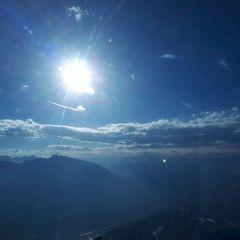 Flugwegposition um 15:30:21: Aufgenommen in der Nähe von Gemeinde Reith bei Seefeld, Österreich in 2714 Meter