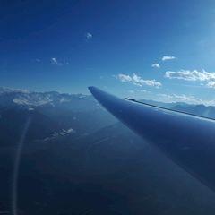 Flugwegposition um 15:33:39: Aufgenommen in der Nähe von Gemeinde Zirl, Zirl, Österreich in 2511 Meter