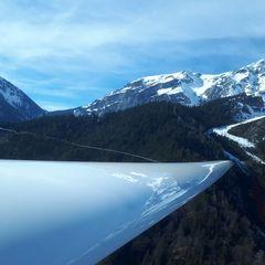 Flugwegposition um 14:26:06: Aufgenommen in der Nähe von Gemeinde Leutasch, Österreich in 2298 Meter