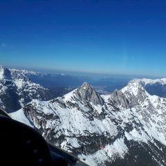 Flugwegposition um 14:18:00: Aufgenommen in der Nähe von Gemeinde Leutasch, Österreich in 2162 Meter