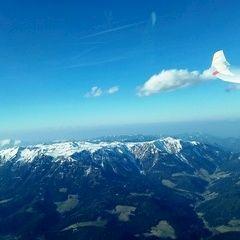 Flugwegposition um 14:42:57: Aufgenommen in der Nähe von Ganz, 8680 Ganz, Österreich in 2382 Meter