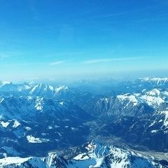 Flugwegposition um 14:03:46: Aufgenommen in der Nähe von Hafning bei Trofaiach, Österreich in 3099 Meter