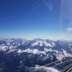 Flugwegposition um 15:12:22: Aufgenommen in der Nähe von 39030 Percha, Bozen, Italien in 3494 Meter