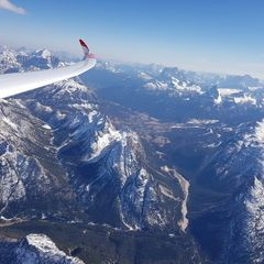 Verortung via Georeferenzierung der Kamera: Aufgenommen in der Nähe von 32043 Cortina d'Ampezzo, Belluno, Italien in 4100 Meter