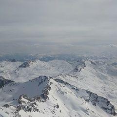 Flugwegposition um 14:14:41: Aufgenommen in der Nähe von Berchtesgadener Land, Deutschland in 2886 Meter