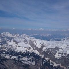 Flugwegposition um 14:14:27: Aufgenommen in der Nähe von Berchtesgadener Land, Deutschland in 2921 Meter