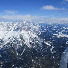Flugwegposition um 13:17:01: Aufgenommen in der Nähe von Gemeinde Maria Alm am Steinernen Meer, 5761, Österreich in 2536 Meter