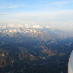 Flugwegposition um 16:55:24: Aufgenommen in der Nähe von Altenberg an der Rax, Österreich in 2285 Meter