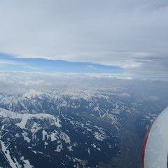 Flugwegposition um 08:55:54: Aufgenommen in der Nähe von Gemeinde Haus, Österreich in 3775 Meter