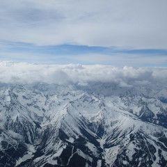 Flugwegposition um 08:55:28: Aufgenommen in der Nähe von Gemeinde Haus, Österreich in 3736 Meter