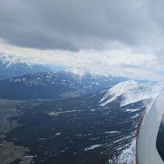 Flugwegposition um 11:30:32: Aufgenommen in der Nähe von Imst, Gemeinde Imst, Österreich in 2908 Meter