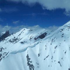 Flugwegposition um 11:22:49: Aufgenommen in der Nähe von Gemeinde Stanz bei Landeck, Stanz bei Landeck, Österreich in 2821 Meter