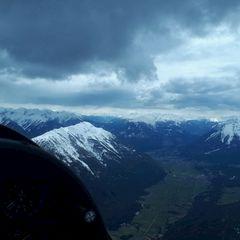 Flugwegposition um 13:20:28: Aufgenommen in der Nähe von Gemeinde Nassereith, Österreich in 2740 Meter