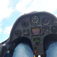 Flugwegposition um 13:45:42: Aufgenommen in der Nähe von Gemeinde Reith bei Seefeld, Österreich in 2923 Meter