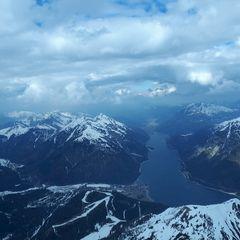 Flugwegposition um 14:03:46: Aufgenommen in der Nähe von Gemeinde Stans, Österreich in 2771 Meter
