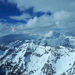 Flugwegposition um 13:54:33: Aufgenommen in der Nähe von Innsbruck, Österreich in 2963 Meter