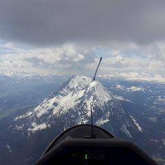 Flugwegposition um 11:45:47: Aufgenommen in der Nähe von Stainach, Österreich in 2391 Meter
