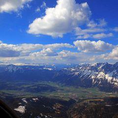 Flugwegposition um 13:32:05: Aufgenommen in der Nähe von Öblarn, 8960 Öblarn, Österreich in 2874 Meter