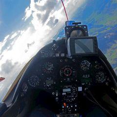 Flugwegposition um 13:35:21: Aufgenommen in der Nähe von Mitterberg, Österreich in 2979 Meter