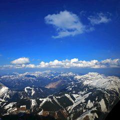 Flugwegposition um 14:39:08: Aufgenommen in der Nähe von Hafning bei Trofaiach, Österreich in 2095 Meter